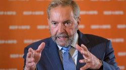 Mulcair Says Liberals Are His Only