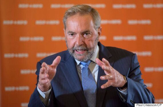 Thomas Mulcair, Facing Caucus Unrest, Says Trudeau Liberals His Only