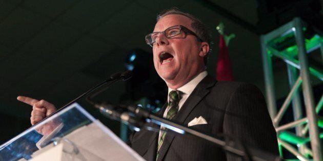 Saskatchewan Election 2016: Brad Wall Says Win Will Protect Province's