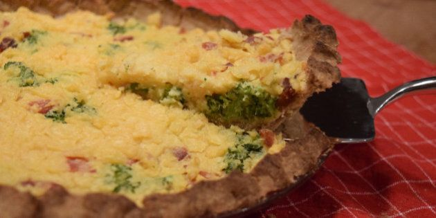 Ham And Broccoli Quiche: An Allergy-Friendly