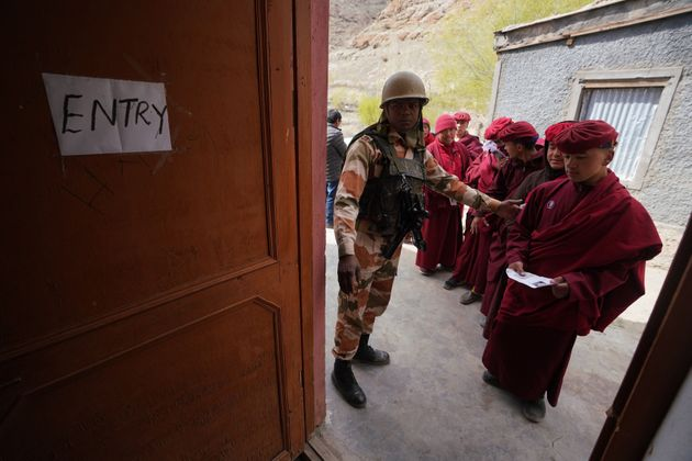Ladakh: Army In Postal Ballot