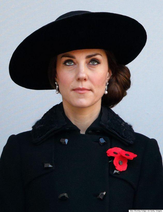 Kate Middleton Draws Comparison To Princess Diana At Remembrance Day