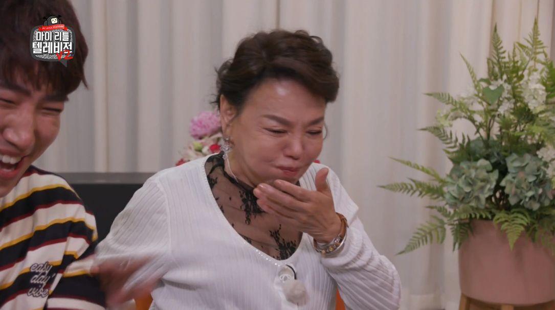 김수미가 '기부 리액션'의 진수를