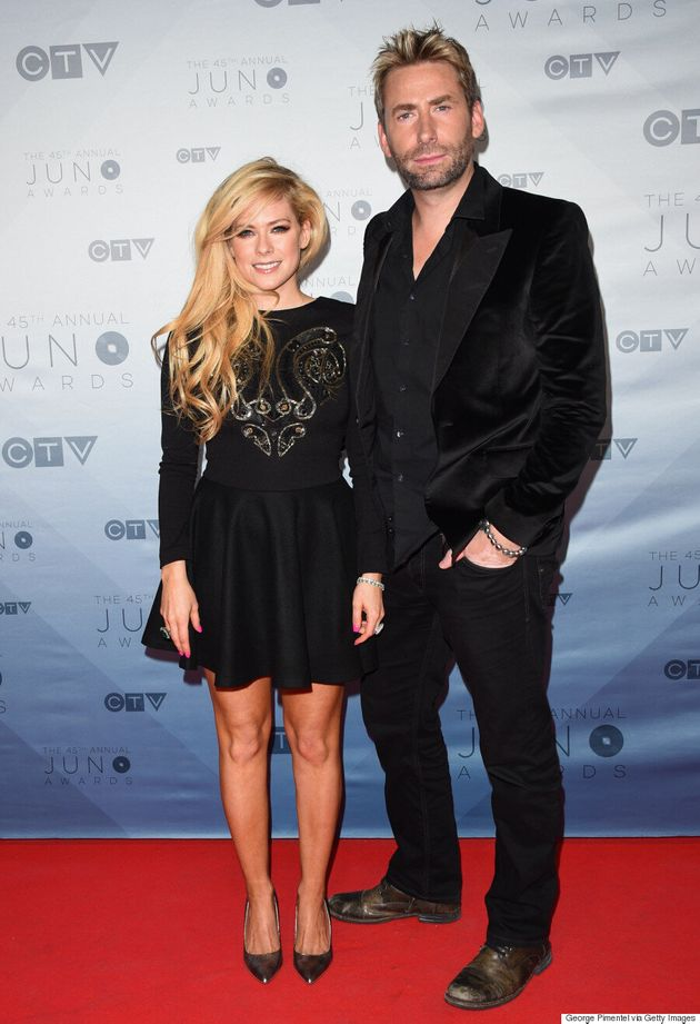 Avril Lavigne, Chad Kroeger Back Together -- For The