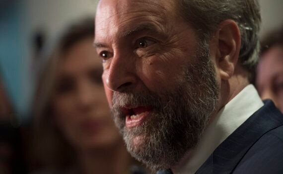 Mulcair Sets Into Campaign Mode Ahead Of NDP Leadership