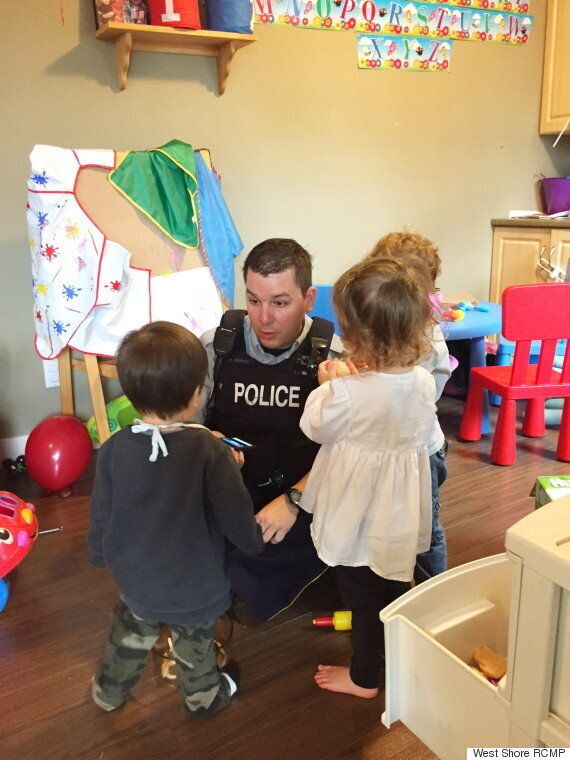 West Shore RCMP Step In To Babysit At Daycare In Langford,