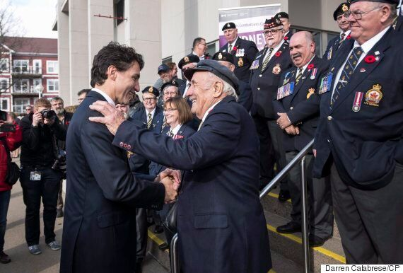 Justin Trudeau Re-Opens Veterans Affairs Office In N.S. Closed By