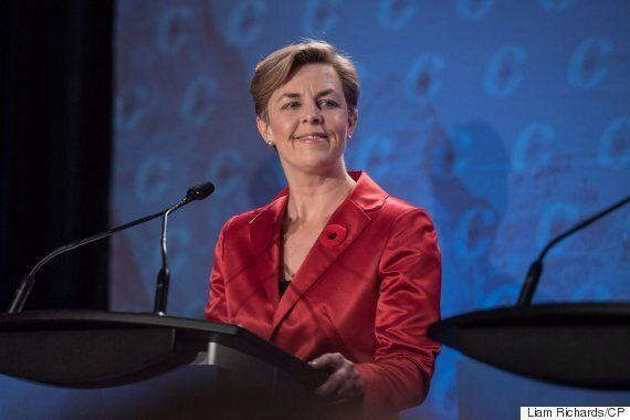 Kellie Leitch Seeks Headlines As Tory Leadership Contenders Debate