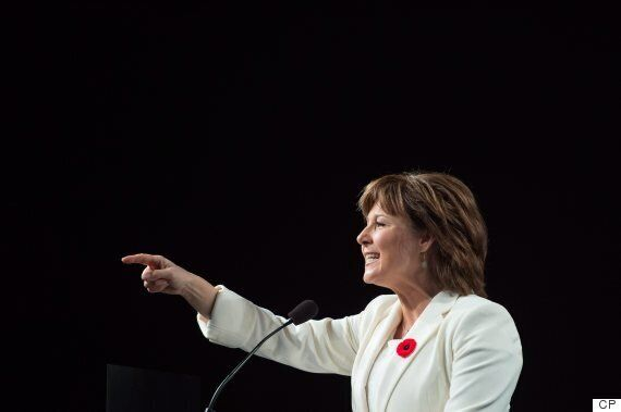 B.C. Premier Christy Clark Glad 'Terrible Affair' Of U.S. Election Is