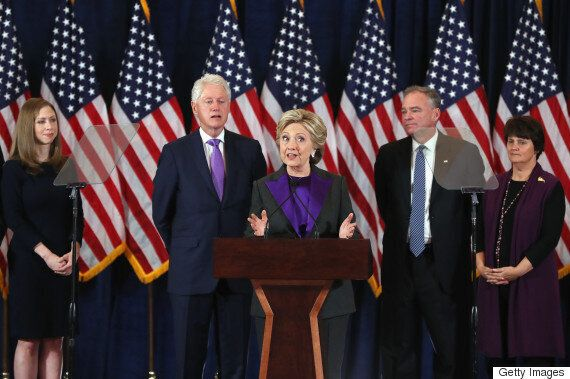 Hillary Clinton's Concession Speech Urges Supporters To Accept The