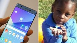 Samsung Phone Explodes In 6-Year-Old's