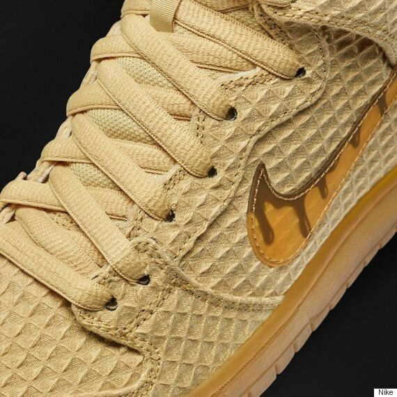 71c34208 Nike's Newest SB Dunk High Shoe Is Chicken And Waffles-Inspired ...