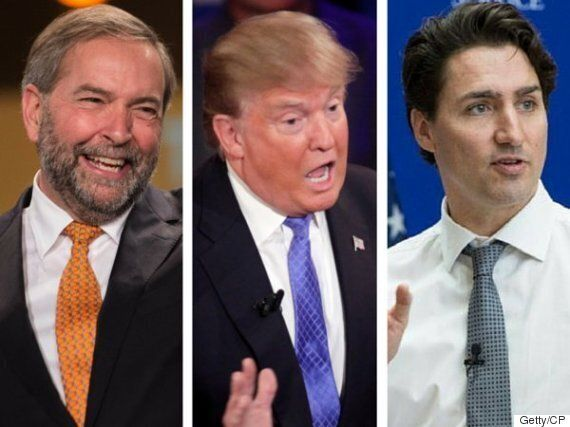 No, Mr. Mulcair, The PM Doesn't Need To Call Trump A
