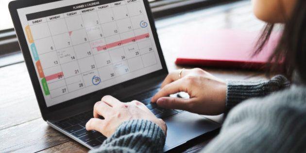 Planner Organizer Date Events Schedule