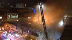 Fire Destroys String Of Businesses In Downtown