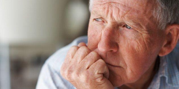 Elderly man lost in