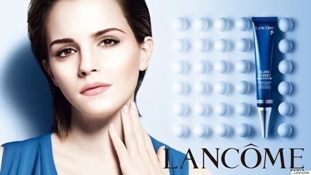 Emma Watson Faces Criticism For Starring In 2013 Lancome Skin Lightening