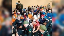 Soldiers Show Remembrance Day Services Don't Have To Be In A