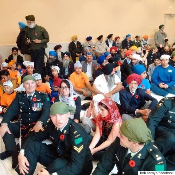 Canadian Soldiers Hold Their First Remembrance Day Service In Sikh