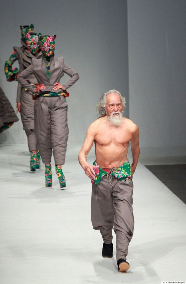 Eighty-Year-Old Model Wang Deshun Proves Age Has Nothing To Do With