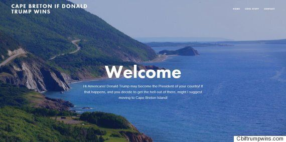 Cape Breton Has Seen A 'Trump Bump' In Business After Cheeky