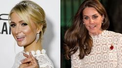 Kate Middleton And Paris Hilton Just Had A Twinning Moment.