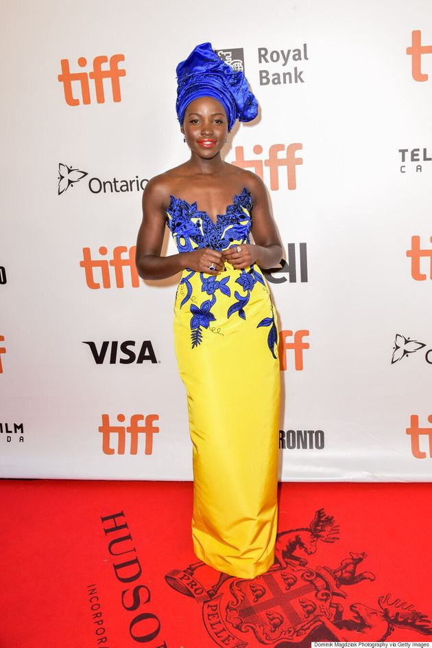 TIFF 2016: Lupita Nyong'o Wears $624,000 Worth Of Jewels For The 'Queen of Katwe'