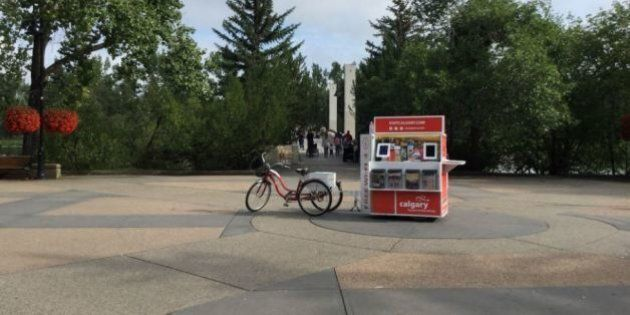 Tourism Calgary's Adorable Mobile Wi-Fi Cart Was A Big