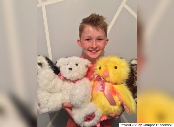 Campbell Remess, Australian Boy, Sews Teddy Bears To Give