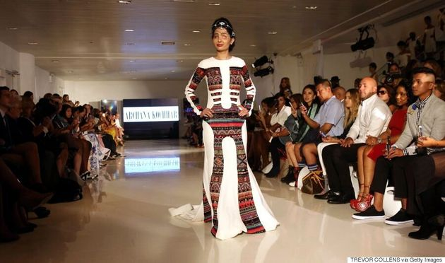 Acid Attack Survivor Reshma Qureshi Wows On The Runway At New York Fashion