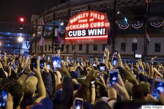 Chicago Cubs Win The World Series For The 1st Time Since