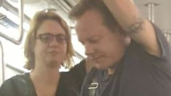 Kiefer Sutherland Has To Deal With Hot Subway Cars,