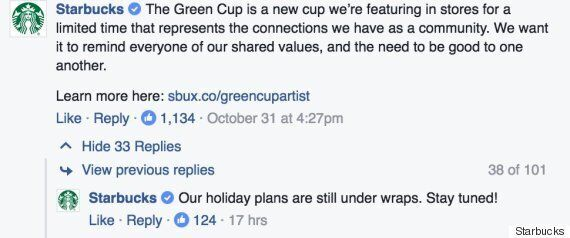 Starbucks' New Green Cup Sparks
