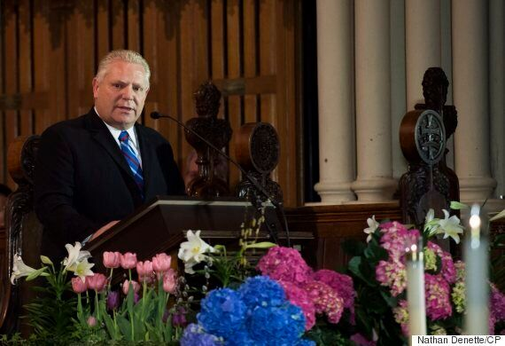Doug Ford May Have Revealed The Secret To His Brother Rob's