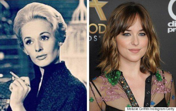 Tippi Hedren 2016: Daughter Melanie Griffith Shares 3 Generation Photo Of Hollywood
