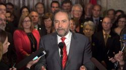 Mulcair Digs In Amid Mounting Pressure To Step