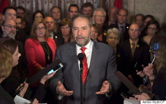 Thomas Mulcair Doubles Down Amid Growing Pressure To Step