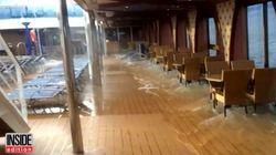 Cruise Ship Passengers Panic As Boat Tilts Several