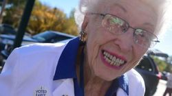 102-Year-Old Born Before Women Could Vote Casts Ballot For