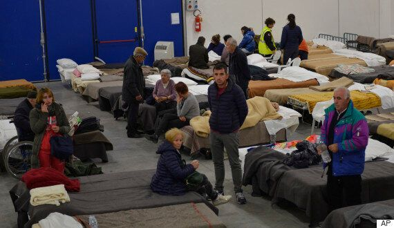 Italy Earthquake Leaves Tens Of Thousands Living In