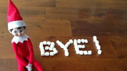 8 Ways Your Elf Can Say Goodbye On Christmas