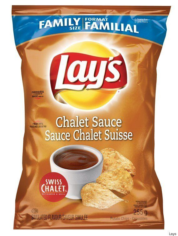 Lay's Releases New Swiss Chalet Sauce Chips That Taste Like