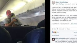This Guy's Kindness Moves Entire Plane To