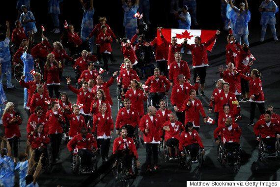 Rio Paralympics: Canada Makes Memorable Entrance At Opening