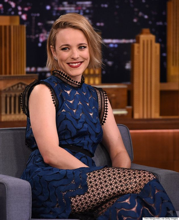 Rachel McAdams Continues Style Streak At 'The Tonight Show With Jimmy