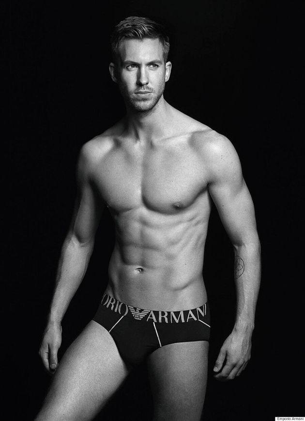 Calvin Harris Strips Down To His Skivvies For Emporio Armani Underwear