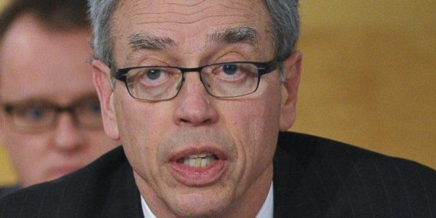 Canadian Finance Minister Joe Oliver speaks on the sudden death of his predecessor, former Canadian finance...