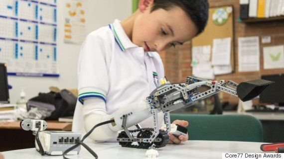 Lego That Lets Kids Build Their Own Prosthetic Arms (And Hack Them,