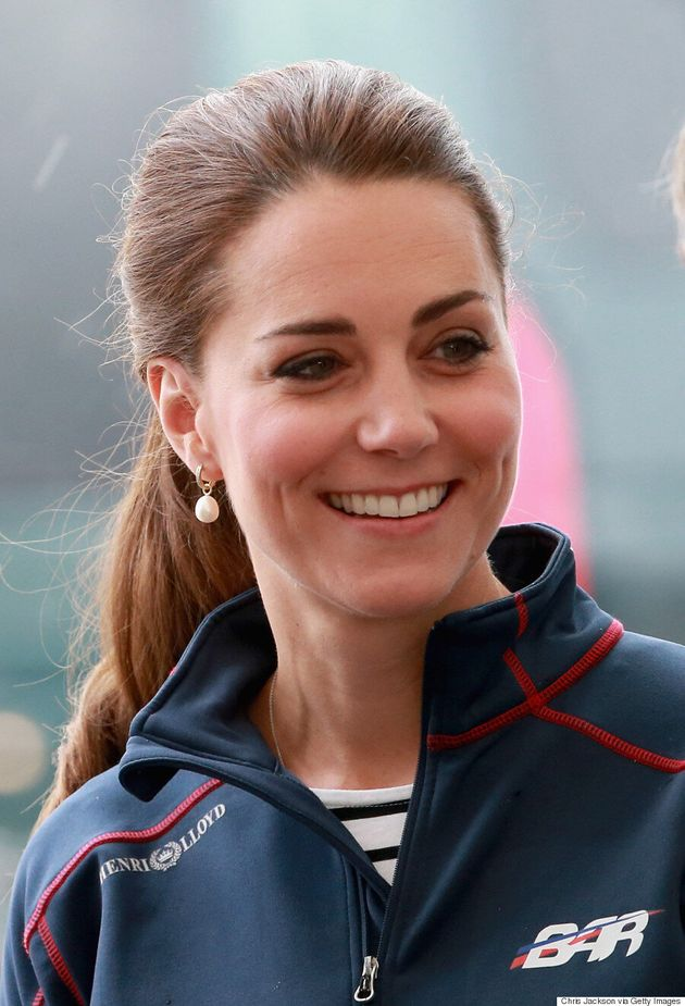 Kate Middleton Goes Sporty Chic At The America's Cup World