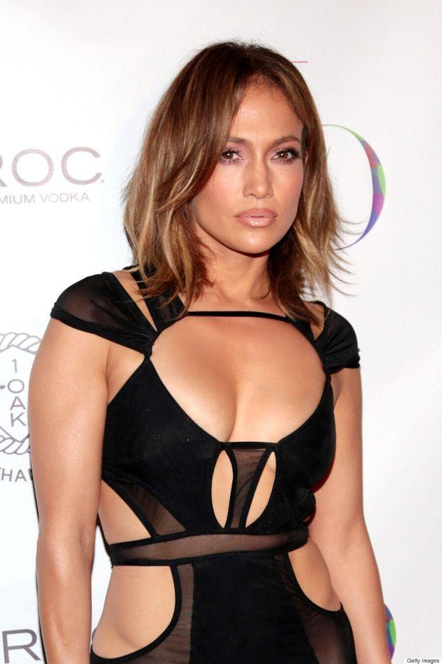 Jennifer Lopez's Birthday Dress Is Next-Level Sexy